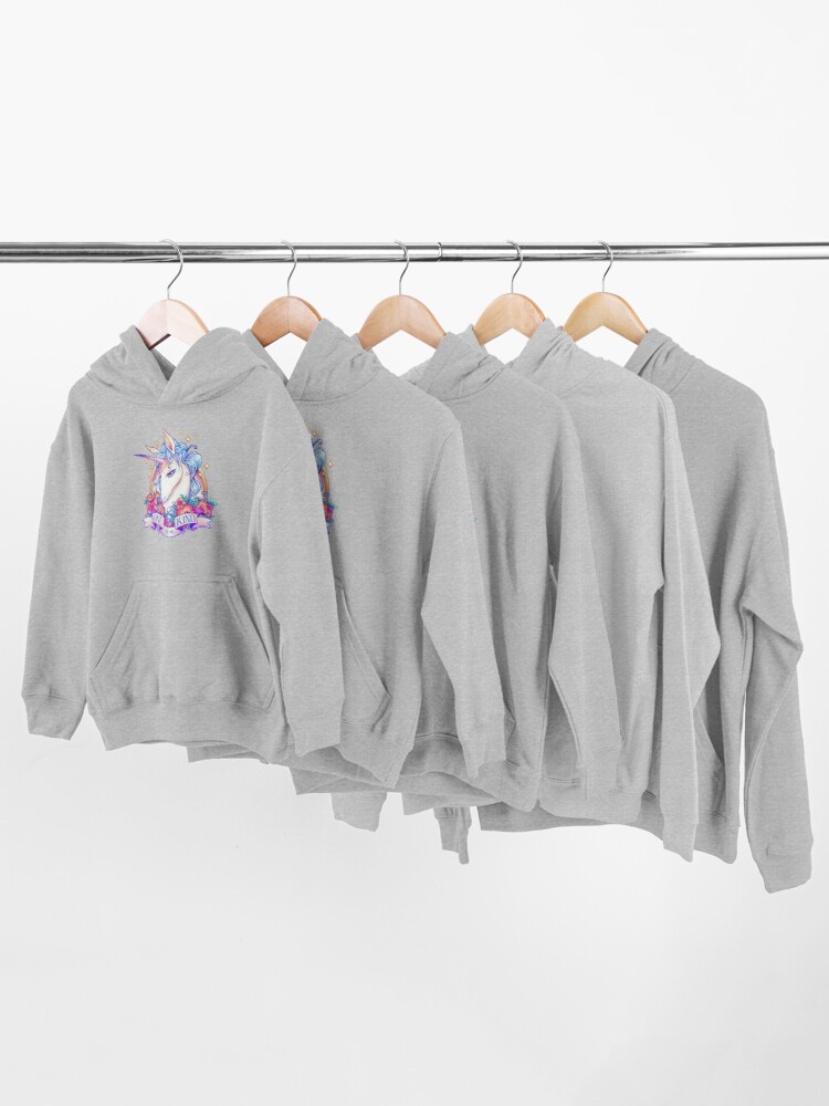 Alternate view of One of a Kind Creature Kids Pullover Hoodie