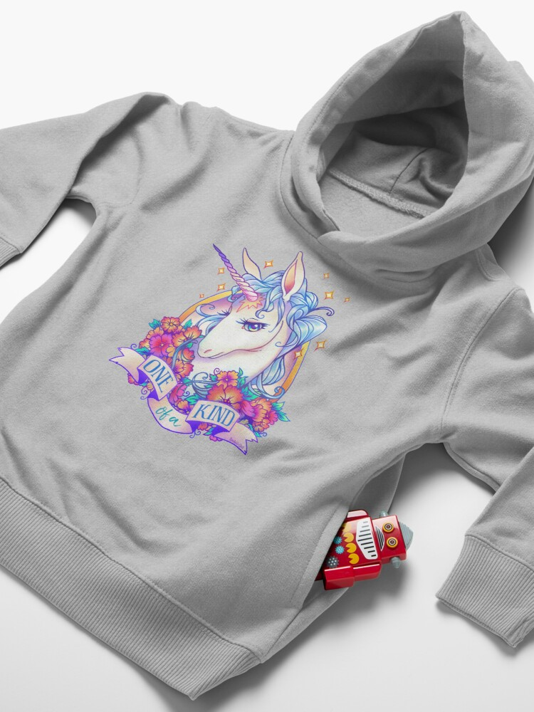 Alternate view of One of a Kind Creature Toddler Pullover Hoodie