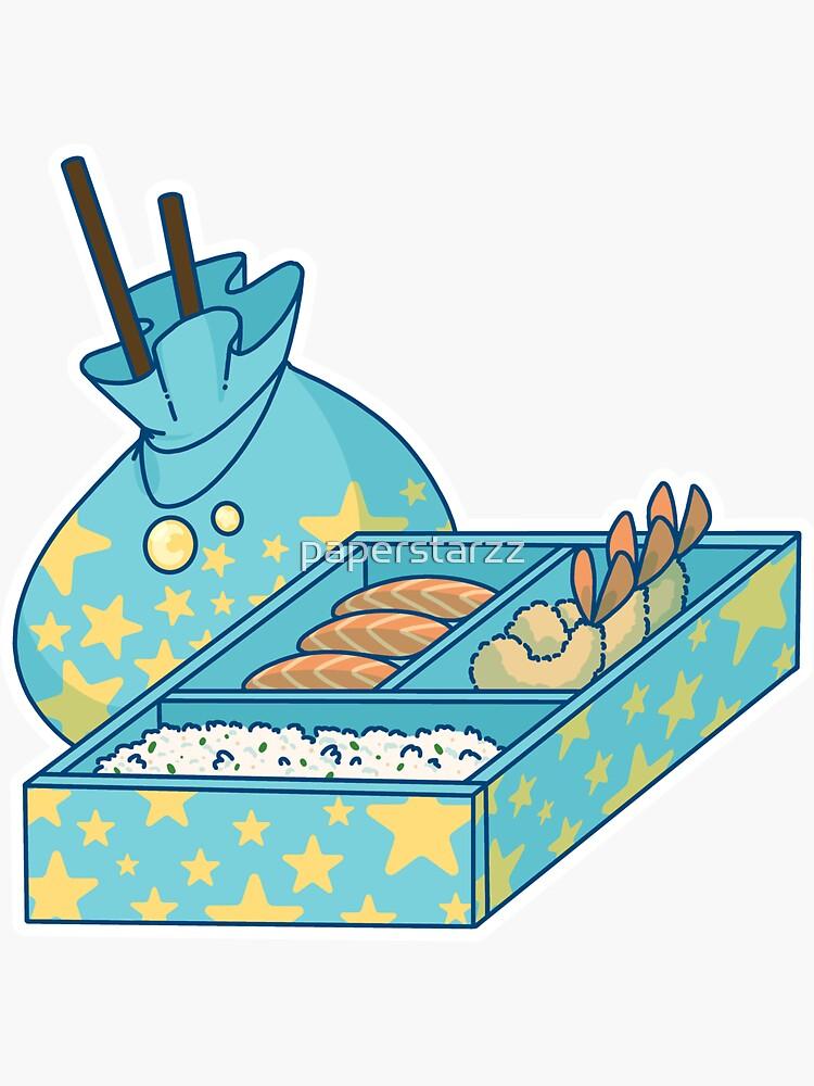 Bento box B by paperstarzz