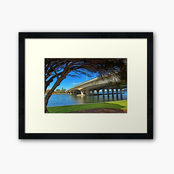 The Narrows Bridge Framed Art Print