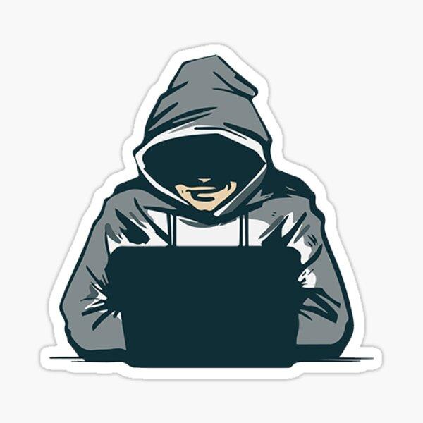 Investigador de Seguridad Hacker Pegatina