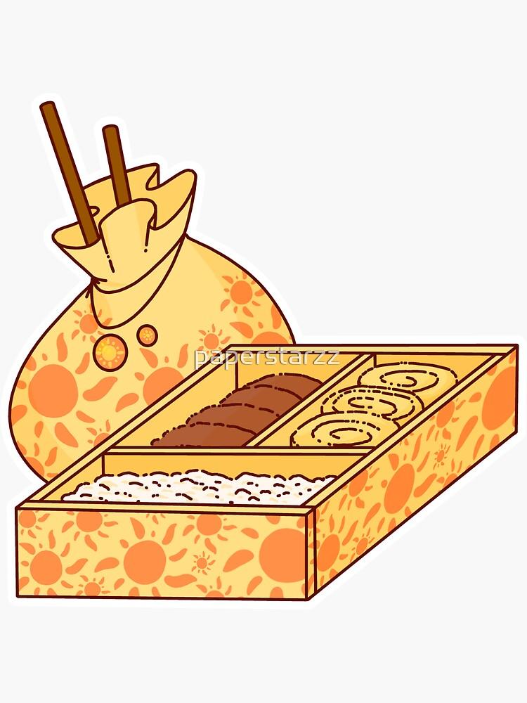 Bento box D by paperstarzz