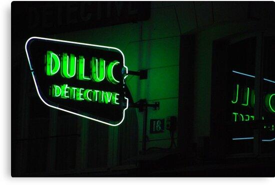 Paris - Duluc Detective by Jean-Luc Rollier