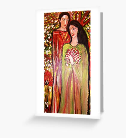 The Engagement Greeting Card