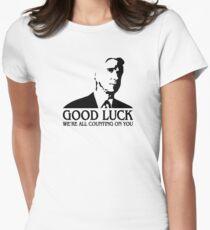 Good Luck Women's Fitted T-Shirt