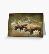 Protected Greeting Card