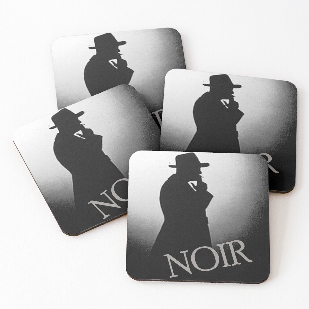 Film Noir Coasters (Set of 4)