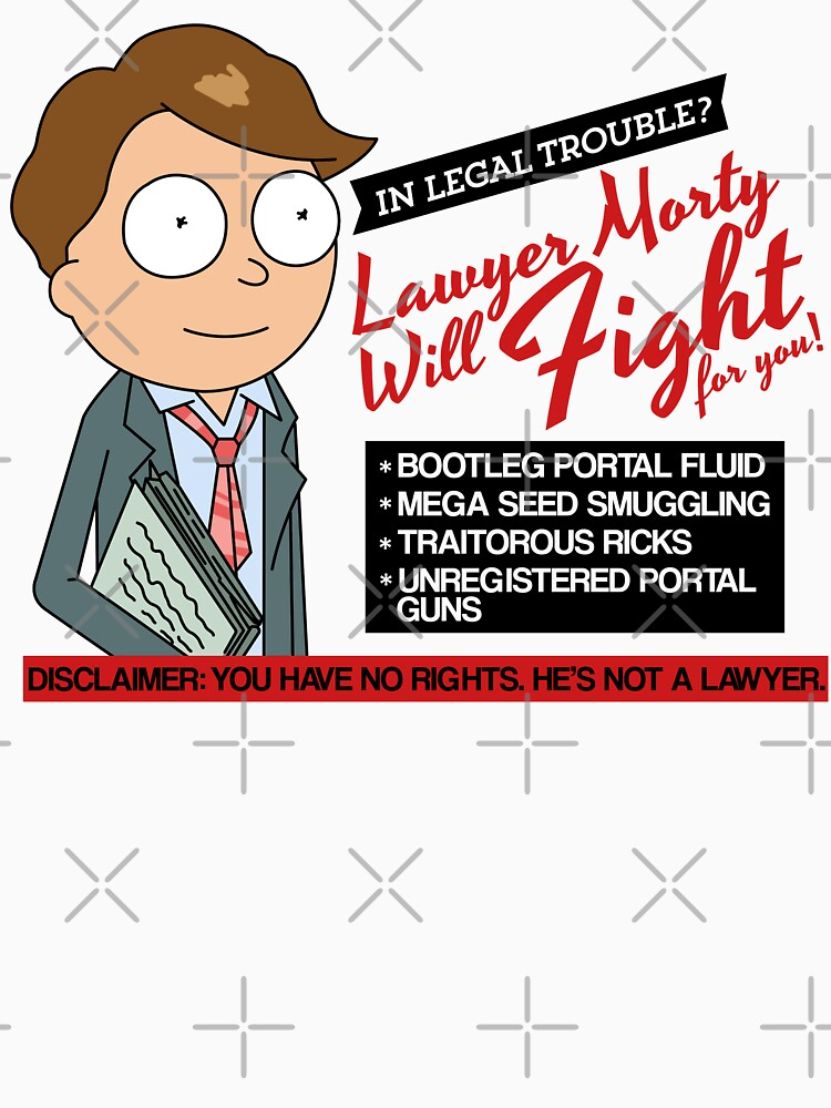 Funny Rick And Morty - Lawyer Morty by MintedFresh