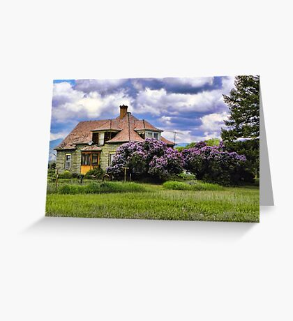 Plains Pioneer Home Greeting Card