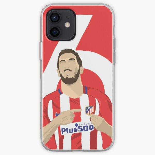 Koke (Atlético de Madrid) Funda blanda para iPhone