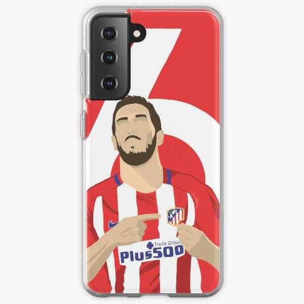 Koke (Atlético de Madrid) Funda blanda para Samsung Galaxy