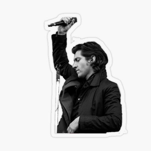 Alex Turner Arctic Monkeys Sticker Sticker transparent