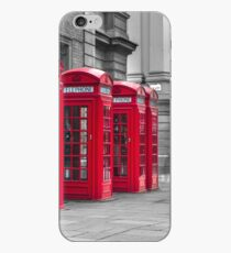 Telephone booths iPhone Case