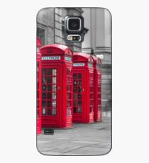 Telephone booths Case/Skin for Samsung Galaxy