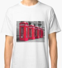 Telephone booths Classic T-Shirt