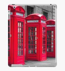 Telephone booths iPad Case/Skin
