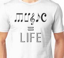 Music is life  Unisex T-Shirt