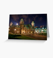 Parliament Hill - East Block Greeting Card
