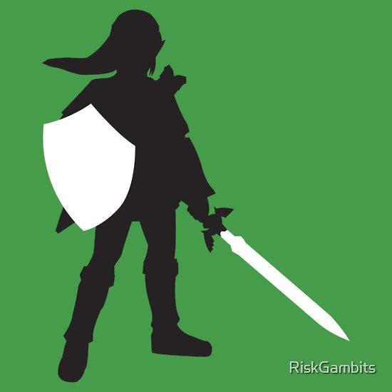 TShirtGifter presents: Legend of Zelda - Link