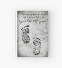 Tiny Footprints Hardcover Journal