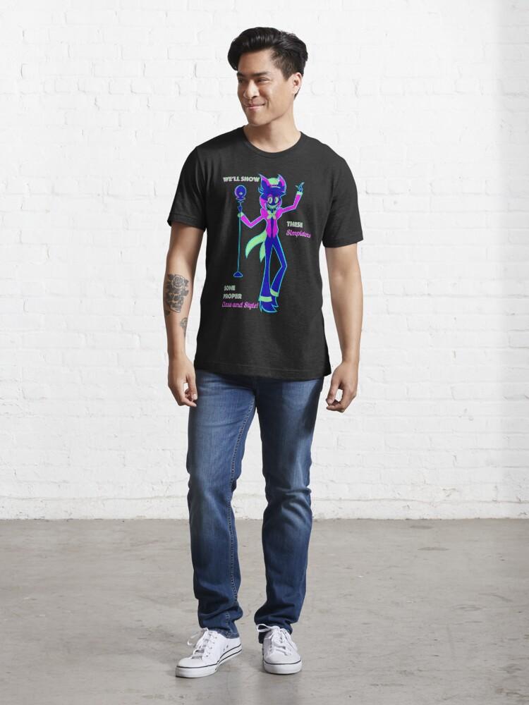 Alternate view of Neon Alastor Essential T-Shirt