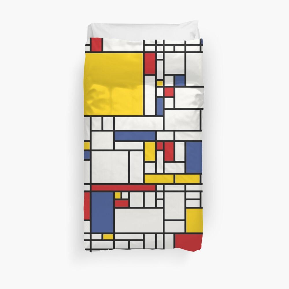 Piet Mondrian Duvet Cover