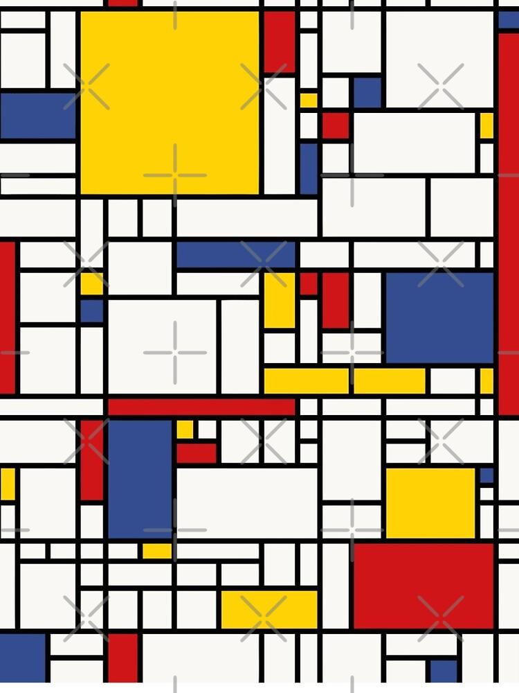 Piet Mondrian by CarlsArt