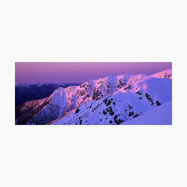 Watsons Crag Sunset Photographic Print