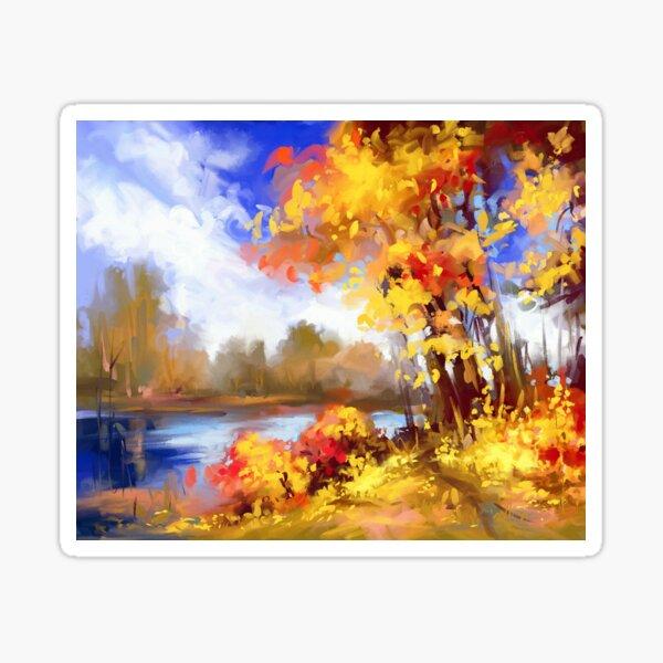 Autumn joy  Sticker