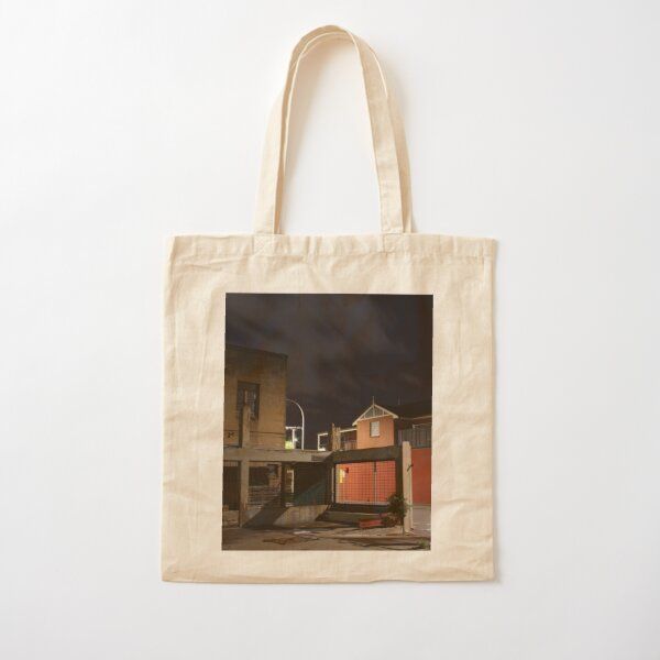 Buildings Old and New Cotton Tote Bag
