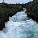 Huka Falls by Jade Thorby