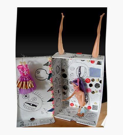 Shoebox With Legs Poster