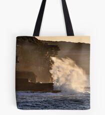 Backlit Splash Tote Bag
