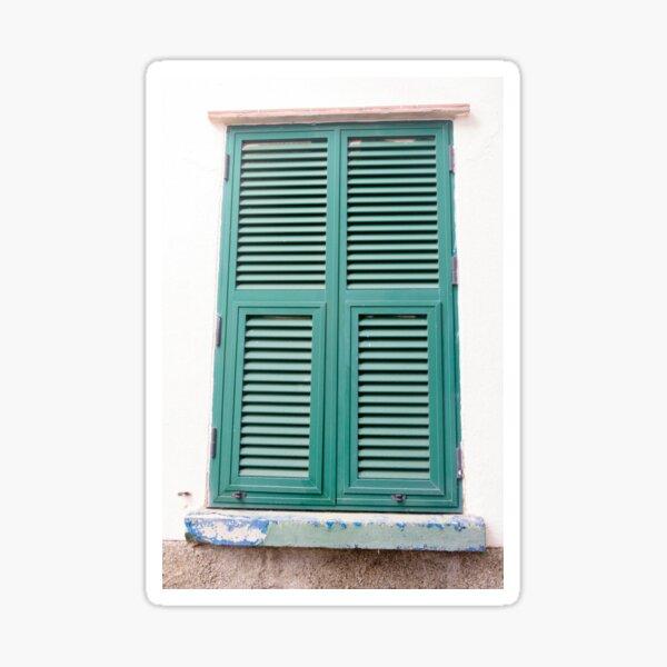 Windows in Gibraltar Sticker