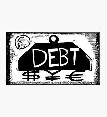 Debt Weight Photographic Print