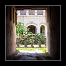 Courtyard, Phuket Town, Thailand by prbimages