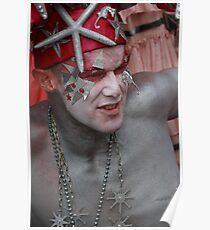 Portraits from The 2011 Coney Island Mermaid Parade-6  Poster