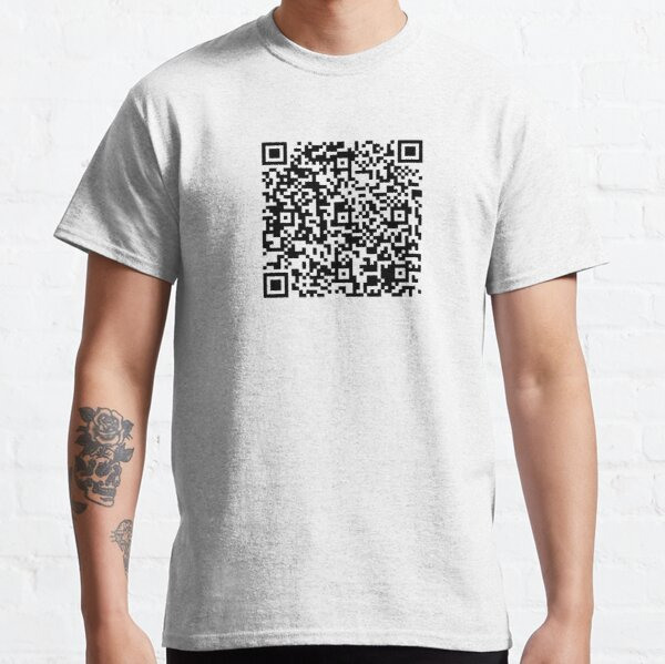 EICAR AV Test String QR Code Classic T-Shirt