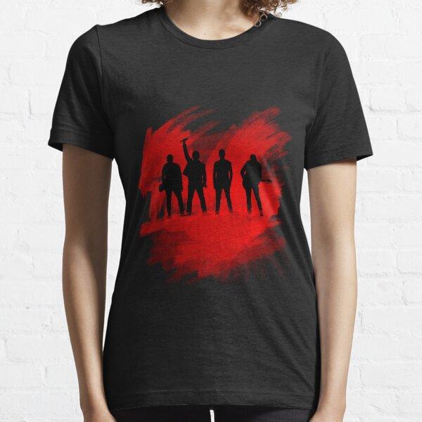 Silueta de pintura U2 Camiseta esencial