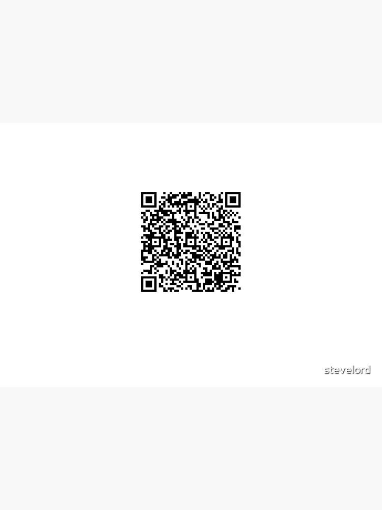EICAR AV Test String QR Code by stevelord