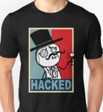 Hacked by LulzSec Slim Fit T-Shirt