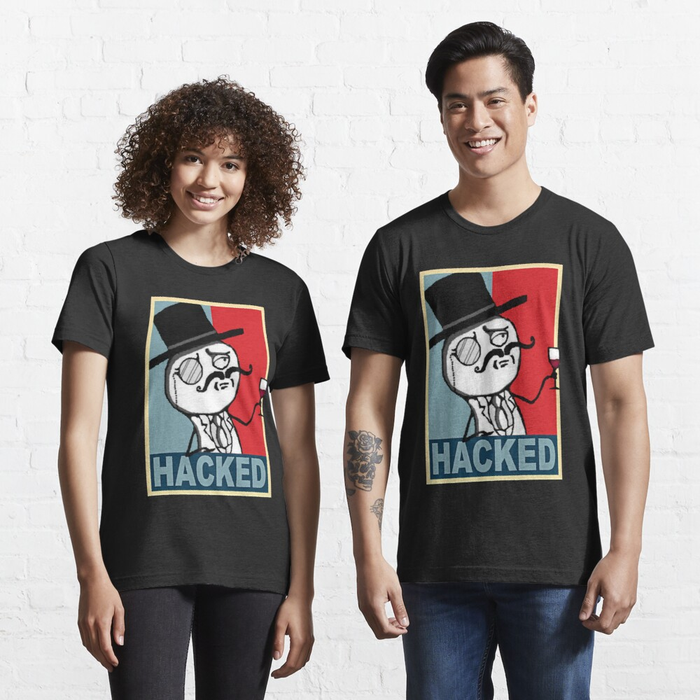 Hacked by LulzSec Essential T-Shirt