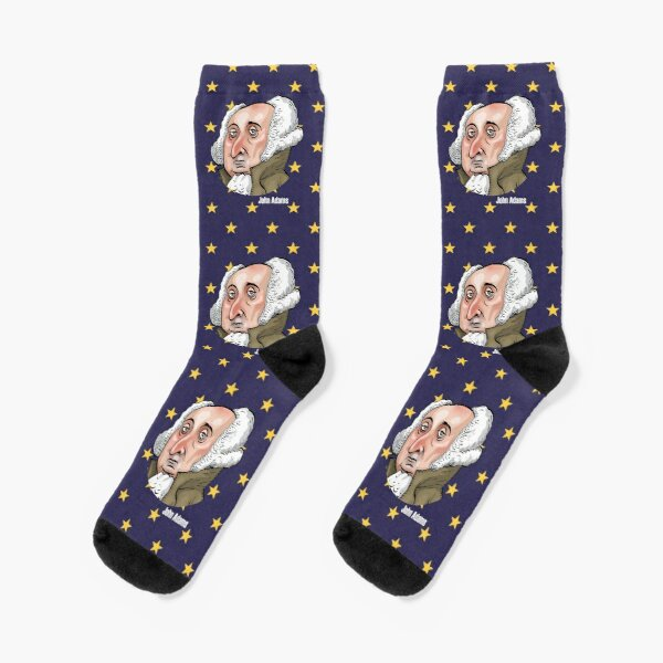 President John Adams Socks