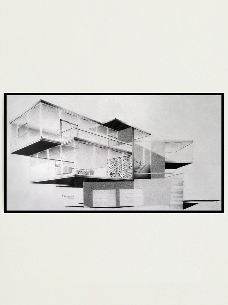 Alternate view of Beach House Photographic Print