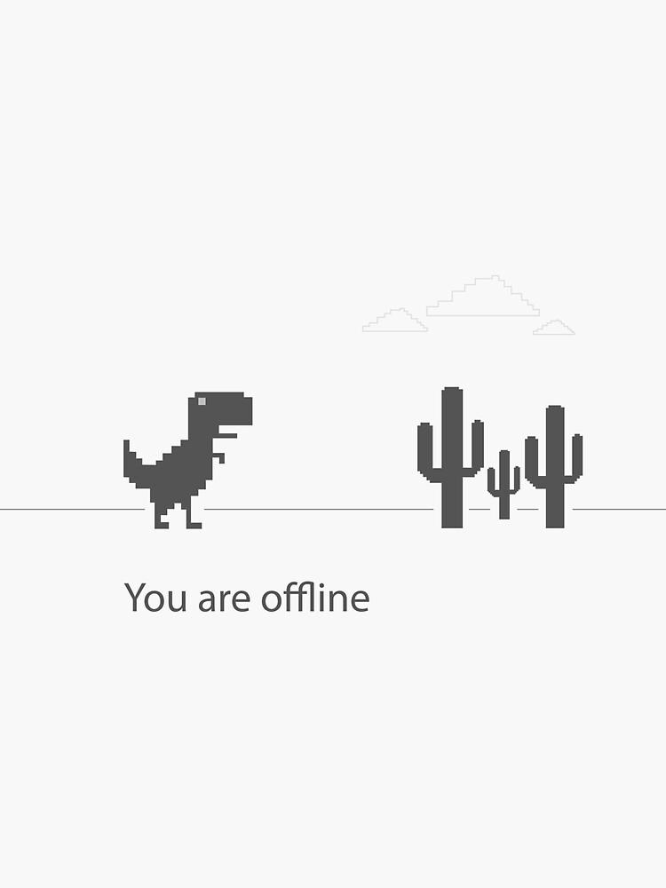 Google chrome T-Rex offline by Arezoo-a