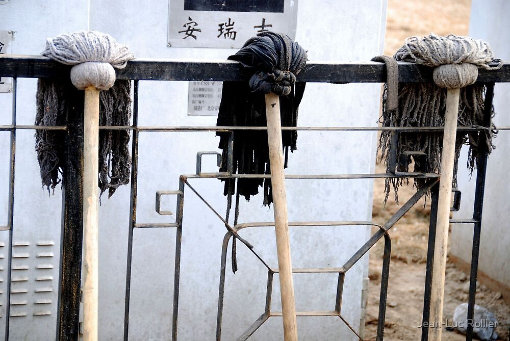 Beijing barrister wigs. by Jean-Luc Rollier