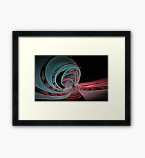 Magneto distorsion Framed Print