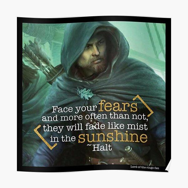 Halt O'Carrik Quote Collage Poster