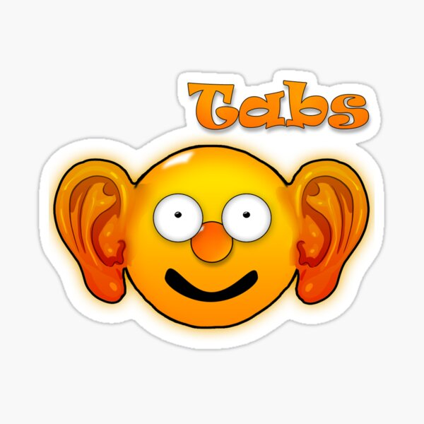 Tabs The Emojible  Sticker