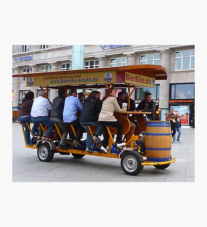 The Beer Bike. Photographic Print